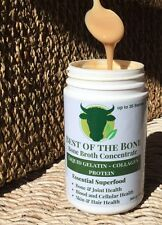 Bone Broth concentrate:NOT powder, real gelatin, 40% collagen protein