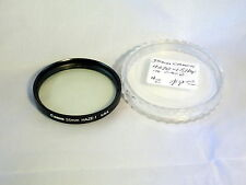 Canon 55mm Haze-1 Lens Filter with case Made in U.S.A. Genuine Canon 6106001