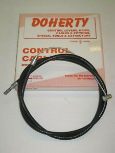 "Avant Frein Câble Doherty 42 "" Triumph Conique 1971 60-3075 60-3557 No Switch"