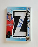 Evgeny Kuznetsov Draft Day Marks SSP 23/35 Rookie Auto 2013 SP Game Used GO CAPS