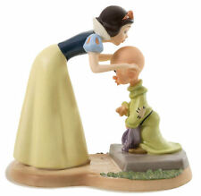Walt Disney WDCC A SWEET SEND OFF Snow White and Dopey Figure Statue Sculpture