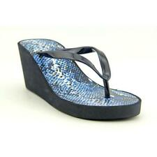 Sandalias y chanclas de mujer azules Talla 38.5