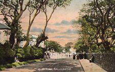 QUAY RD BALLYCASTLE CO ANTRIM IRELAND RELIABLE SERIES  IRISH POSTCARD sent 1912