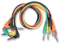 PATCH LEAD JACK MONO R/A 30CM PK6 - Audio & Video - Cable Assemblies