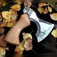 Handmade Small Kitchen Hatchet Axe, Gift for Men, camping Gear
