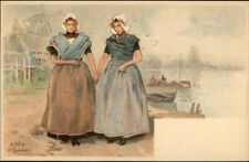 Holland Native Dutch People H. Cassiers c1900 Postcard GOES