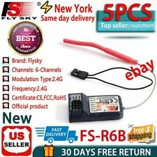 Free Shipping 5 FlySky FS-R6B 2.4Ghz 6CH AFHDS Receiver USPS First Class Package