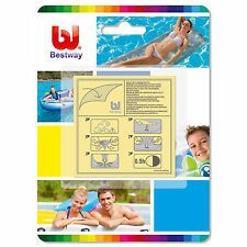 Bestway - Heavy Duty Stick on Patchs x 10 - Repair for Inflatable Airbeds Pools