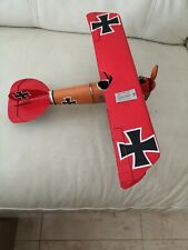 Metal Tin Plate Model - WW1 fighter Plane
