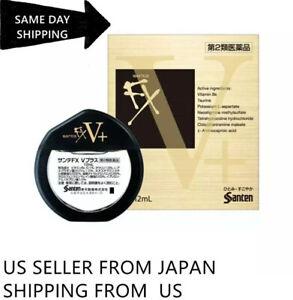 Santen SANTE FX NEO V+ Redness Cool Japanese Eye Drops ULTRA COMFOR Exp 08/2023