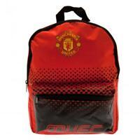 Manchester United Backpack Rucksack Small School Bag Kids Juniors Holdall