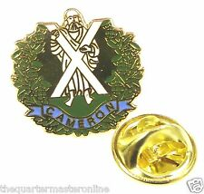 Queens Own Cameron Highlanders Lapel Pin Badge