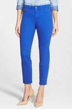 NYDJ Womens Clarissa Skinny Ankle Jeans in Bellflower Blue Size 18 NWT NEW