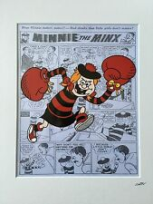 The Beano - Minnie The Minx - Hand Drawn & Hand Painted Cel