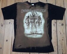 DEMONS & WIZARDS Vintage 2000s T Shirt Heavy Metal Iced Earth LP CD Iron Maiden