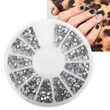 3D ногтей искусство советы Gem 1200pcs 1,5 мм блестящий кристалл со стразами DIY украшения