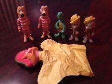 Pogo Possum & Friends 1969 free Us shipping.Walt Kelly Figures.Japanese Vinyl