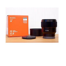 Sony FE 85mm f1.8 SEL85F18 for E-mount stock from EU