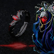 Overlord Ainz Ooal Gown Momonga Finger Ring S925 Silver Anime Cosplay Jewelry