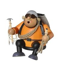 Handcrafted Erzgebirge Smokers climber approx. 16 cm
