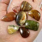 130 Cts. 100% NATURAL WHOLESALE LOT OF MIX STONE LOOSE CABOCHON GEMSTONE (L621)