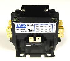 New 40 amp 2 pole 24 vac Definite Purpose Contactor Relay