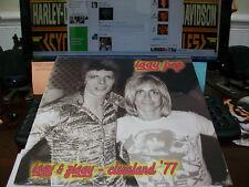 Iggy Pop - Iggy & Ziggy-Cleveland 77 Vinyl LP (David Bowie)Raw Power Be Your Dog