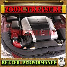 RED CHF AIR INTAKE INDUCTION KIT FOR 2009-2011/09-11 HYUNDAI GENESIS 3.8L V6 4DR