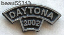 2002  DAYTONA FLORIDA BIKE WEEK ROCKER JACKET VEST HAT TAC PIN