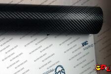3M Scotchprint 1080 Black Carbon Fiber Wrap Vinyl Film 1' x 6'  6 sq. ft. CF12