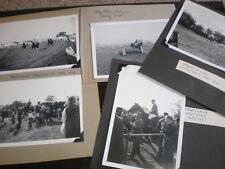 Old amateur photographs showjumper Harvey Smith Otley Shows 1965 1967 1969 1973