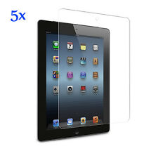 5x Extra Clear Screen Protector Guard Film Skin for Apple iPad 4 3 2
