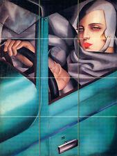 Art Nouveau Tamara De Lempicka Ceramic Mural Backsplash Bath Tile #47