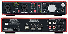 Focusrite Scarlett 2i4 2-in/4-out USB 2.0 Mac/PC Recording Interface w/ Ableton