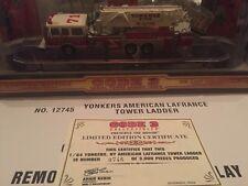 Code 3 #12745 Yonkers American La France Tower Ladder
