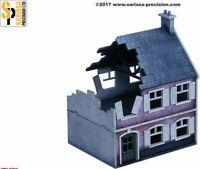 Cascina Distrutta Destroyed Farmhouse - Sarissa Precision Ltd 1:72 MFD