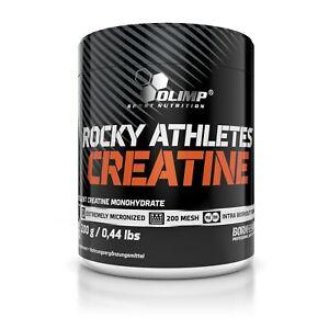 OLIMP Creatine Rocky Athletes 200g PURE MICRONIZED CREATINE MONOHYDRATE POWDER