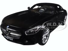 MERCEDES AMG GT MATT BLACK 1:24 DIECAST MODEL CAR BY MAISTO 31134