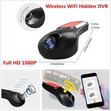 1080P HD Wireless Wifi Hidden Car Dash Cam DVR Camera Video Recorder Camcorder
