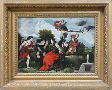 Italian School Late 18th Century Mythological Scene Oil on Canvas