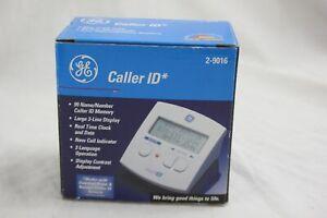GE Caller ID 2-9016 99 Name Large 3-Line Display BRAND NEW A078