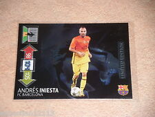 Champions League 2012/2013  Adrenalyn Andres Iniesta Limited Edition