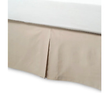 Bed Bath and Beyond Smoothweave Tailored Queen Bed Skirt in Mocha