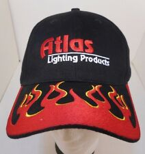 Team Atlas Lighting Products Red Flame HAT Cap Adjustable Cotton Head Wear