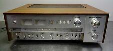 Vintage HiFi-Denon talla 555 Estéreo FM-el receptor sintonizador amplifier 70er rara vez!