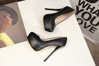 Men's Stiletto Pumps Platform Drag Queen White Crossdresser Heels Women Shoes