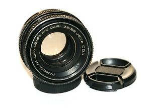 NICE! MC Carl Zeiss Jena Pancolar 1.8/50 M42 screw mount lens