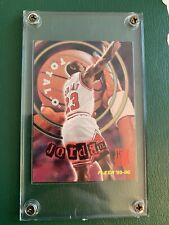 1995 95 Fleer Total O Hot Pack Michael Jordan #2, seltene Karte, Rare Insert