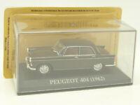 Ixo Presse 1/43 - Peugeot 404 Marron 1962