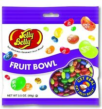 FRUIT BOWL ASSORTMENT - Jelly Belly Candy Jelly Beans - 3.5 oz BAG - PREPACKAGED